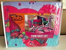 Trolls Poppy Twin Sheet Set New