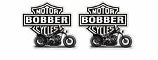 Motorcycles Bobber Retro Chopper Sticker Decal Oldschool Rebel Tattoo 1% Outlaw