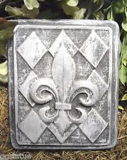 MOLD  Fleur di lis Plastic Mould For Plaster Or Concrete casting