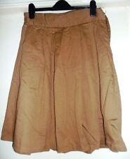 Fat Face Knee Length Cotton Regular Skirts for Women