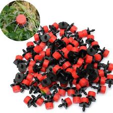 100x Micro Spray Drip Irrigation System Emitter Dripper Plant Garden Water Head#