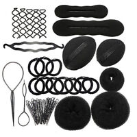 26 Pcs Topsy Tool Hair Braid Twist Braider Hook Bun Ponytail Tail Styling Tool
