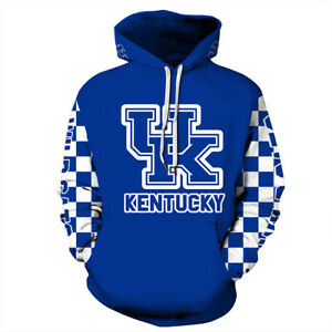 Kentucky Wildcats Hoodie Medium-3XL Lightweight Unisex College Basketball