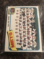 1980 Topps New York Mets Team Set