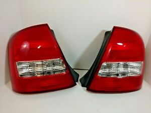 Tail Lamp Assembly Pair Mazda Protege SEDAN 1999-2003 Pair LH & RH Side NEW