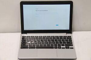 "Asus C201 11.6"" Chromebook Rockchip 1.8 GHz Processor 16GB SSD 2GB RAM"