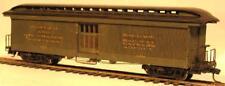 HOn3 D&RGW #127 Railway Express Baggage Car, laser cut wood kit MRGS #3127