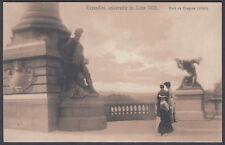 1905 Liege Universal Exposition / Exhibition, Pont de Fragnee ;Unused Postcard;a