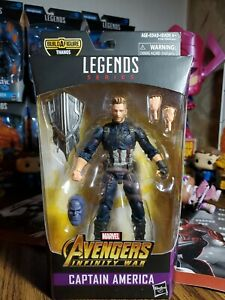 Marvel Legends Hasbro CAPTAIN AMERICA Avengers Infinity War Thanos BAF Figure
