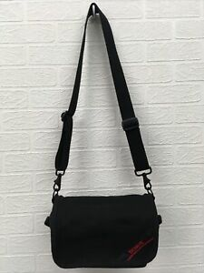 Domke Camera Bag Satchel Black Canvas Case Medium Wide Strap