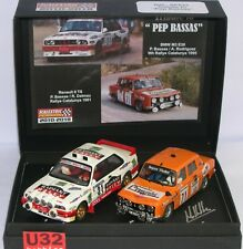 SCALEXTRIC PASSION SP032 TRIBUTE TO PEP BASSAS RENAULT 8 TS 1981 BMW M3 E30 1995