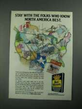 1987 Best Western Ad - Stay With the Folks Who Know North America Best