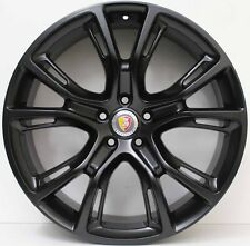 21 inch AFTERMARKET JEEP GRAND CHEROKEE SPIDER MONKEY STYLE WHEELS IN BLACK