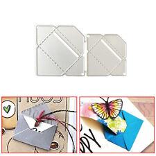 2x Envelope Metal Die Cut Cutting Dies For DIY Scrapbooking Embossing Paper Card