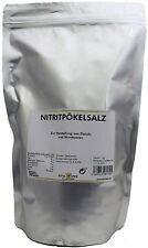 Nitritpökelsalz, Nitrit Salz Pökelsalz 1 - 5 Kg zum Pökeln, Pöckelsalz NPS
