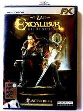 Tzar Excalibur Il Re Artu PC Nuevo Brand New Sealed Precintado Videogame SPA