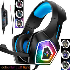 V1 Stereo Bass Surround Gaming Headset with Mic for PS4 Xbox One PC Laptop 3.5mm