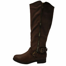 Blossom Pita 31 Brown Women's Casual Slouchy Knee High Boots