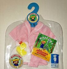 Madeline Bathrobe Duck - Collectible Clothing 15 Inch Doll