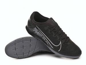 Chaussures de Futsal Nike Mercurial Vapor XIII Pro IC Black-Metallic cool grey-B