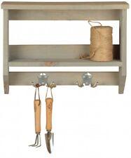 Wandregal / Wandablage mit Haken - 39 cm breit - Wandorganizer