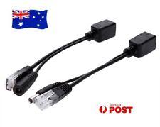Power Over Ethernet Internet Adapter Passive POE Injector Splitter Connector Kit