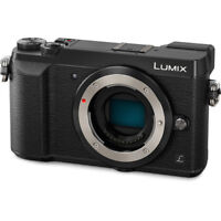 Panasonic Lumix DMC-GX85 Mirrorless Micro 4/3 Digital Camera Body Only - Black