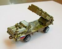 BM-30 Smerch Tornado Russian Rocket Launcher Die Cast Metal Car Model 85 mm