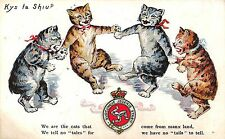 POSTCARD  COMIC    CATS    Related   ISLE OF  MAN    We  are  the  cats....