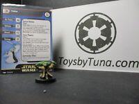 Star Wars Miniatures Yoda Clone Strike CS Jedi w/ Card mini RPG Legion