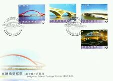 Bridges Of Taiwan (III) Taiwan 2010 Building Architecture Tourist (stamp FDC)