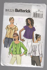 BUTTERICK pattern B5223 top jacket Sz 8 10 12 14 Unused FF uncut