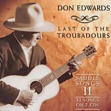 Don Edwards - Last of the Troubadours: Saddle Songs 2 [New CD] Special Edition,