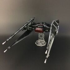Display stand for LEGO Star Wars: Kylo Ren's TIE Fighter (75179)