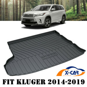 Cargo Trunk Mat Boot Liner Luggage Tray fit Toyota Kluger 5 & 7 Seater 2014-2021