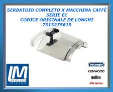 SERBATOIO COMPLETO PER MACCHINA CAFFÈ SERIE EC 7313275619 DE LONGHI ORIGINALE