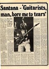 Santana Guitarists Man, Bore Me To Tears MM5 Interview 1975