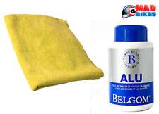 Belgom Alu 250ml Aluminium Alu Politur + Microfaser Poliertuch