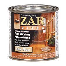 ZAR® Ultra Interior Oil-Based Polyurethane, Gloss, Half-Pint