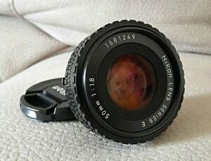 Nikon 50mm f/1.8 Series E (Pancake)