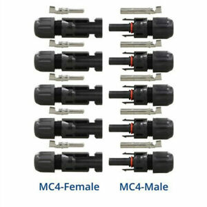 1-20X MC-4 Branch Connector Solar Panel Cable Adapter Male Female Splitters Lot