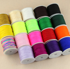 45m/roll Chinese knot Macrame Jewelry DIY Cord Rattail Thread String Jade Line
