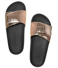 VS Victorias Secret Pink Crossover Comfort Slide Sandal Slipper Flip Flop S 5/6