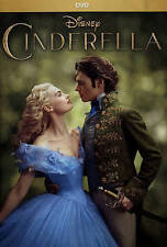 Cinderella (DVD, 2015) Live Version from Disney - SHIPS WITHIN 1 BUSINESS DAY