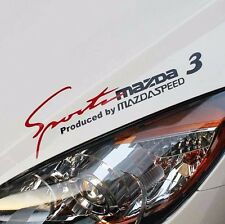 Sports Mind Decal Car Stickers Headlight sticker for Mazda 3 Exterior Modifield