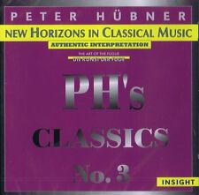 Peter Hübner PH's Classics NO.3 New Horizons in classical Music 1997