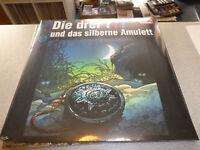 Die Drei ??? Fragezeichen - und das silberne Amulett - 2LP Vinyl / Neu&OVP / 187