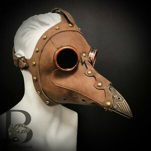 Plague Doctor Mask Long Nose Raven Bird Mask for Halloween Cosplay Costume NEW