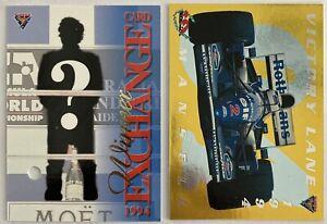NIGEL MANSELL 1994 Futera Victory Lane Winner Exchange Formula 1 1265/2500 PSA