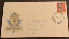1965 Centenary Birth General Sir John Monash Australian Fdc Darwin Nt